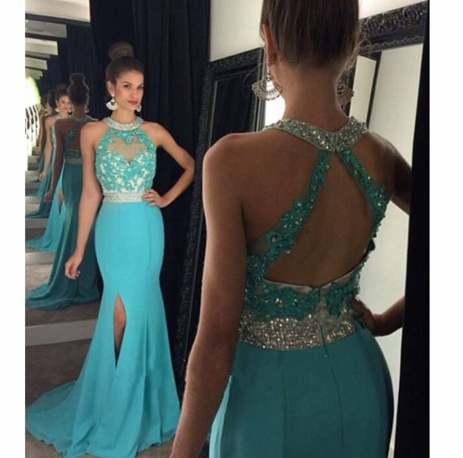 f50c0d459016 Mermaid Prom Dress