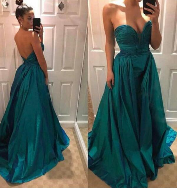 Dark Green Mermaid Prom Dress Off the Shoulder Ruched Evening Formal Party Gowns