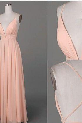 Simple prom dress,long formal dress,chiffion prom dress,pink formal dresses,sexy prom dress,elegant wowen dress,party dress,evening dress,dress for teens,cheap Sexy Backless Prom Dress,Beading Evening Dress, Prom Dress, formal dresses,Wedding guests dresses